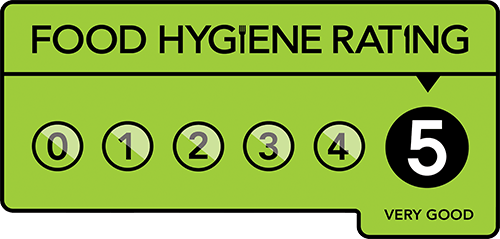 The Boathouse Cafe at Esthwaite Water has a 5-Star hygiene rating